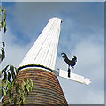TQ6643 : Cowl of Oast House, Mascalls Pound Farm by Oast House Archive