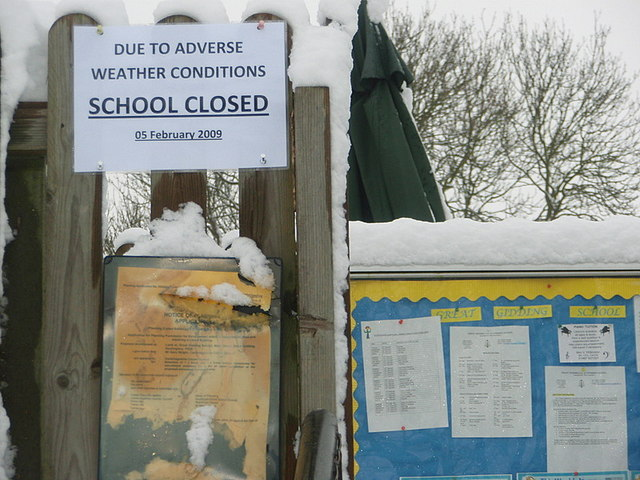 A Familiar Sign  Great Gidding Primary School