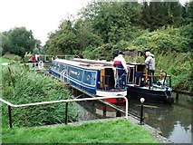 SU6570 : Garston Lock, Kennet and Avon Canal, Theale by Simon Mortimer