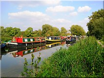 SU6871 : Kennet and Avon Canal near Southcote by Simon Mortimer