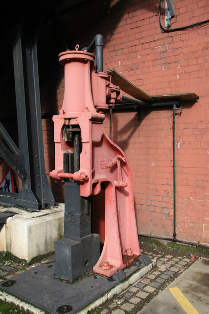 Charles Ross steam hammer
