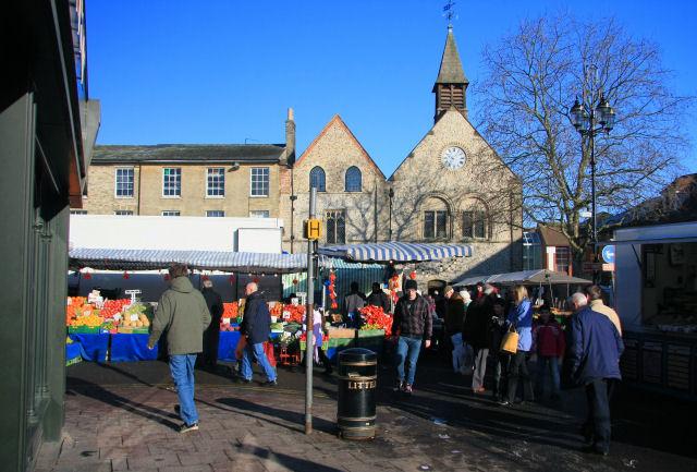 Market Day In Bury St Edmunds 169 Bob Jones Cc By Sa 2 0