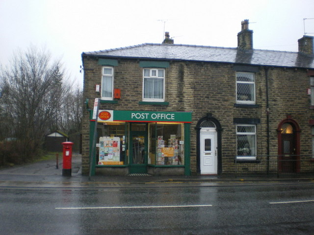 Springhead post office oldham road alexander p kapp cc by sa 2 0 geograph britain and ireland - Great britain post office ...