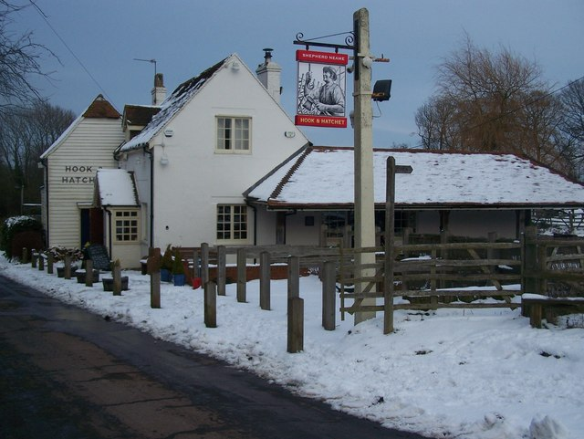 Hook and Hatchet Pub, Hucking