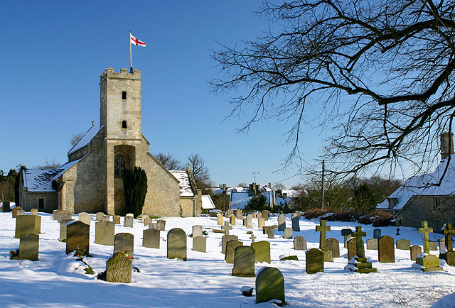Swinbrook Church