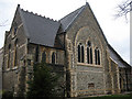 TQ4072 : St Augustine's church, Grove Park - new east end by Stephen Craven
