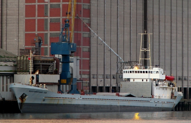 'Baltiyskiy-102' at Belfast