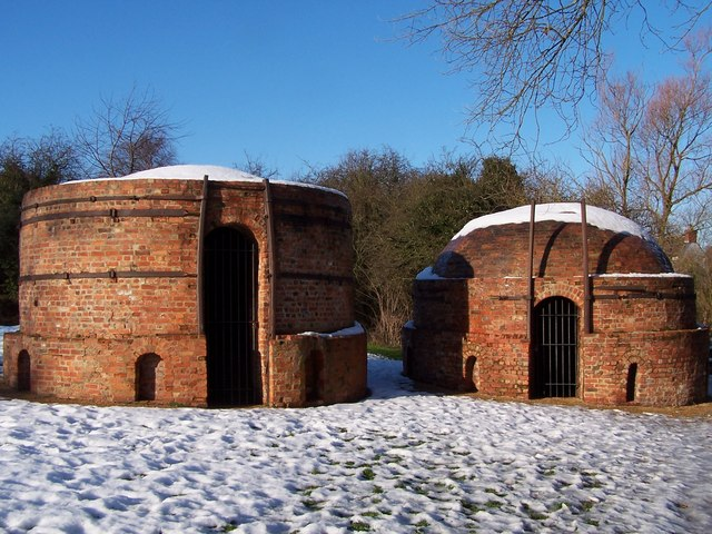 Old brick kilns in Great Linford