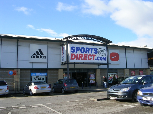 Sports Direct - Forster Square Retail... © Betty ...