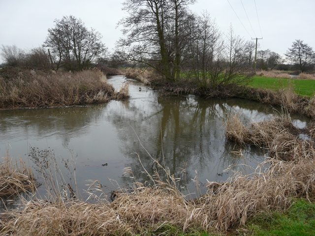 River Blithe south of Hamstall Ridware