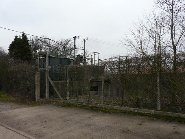 Hamstall Ridware sewage works