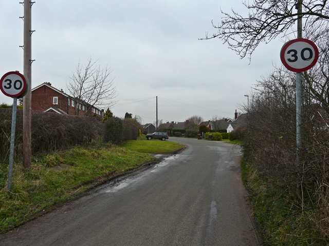 Lichfield Road, Hamstall Ridware