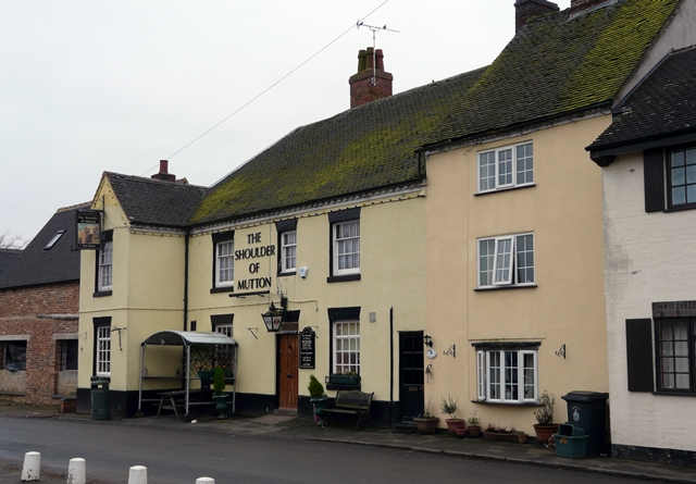 The Shoulder of Mutton, Hamstall Ridware