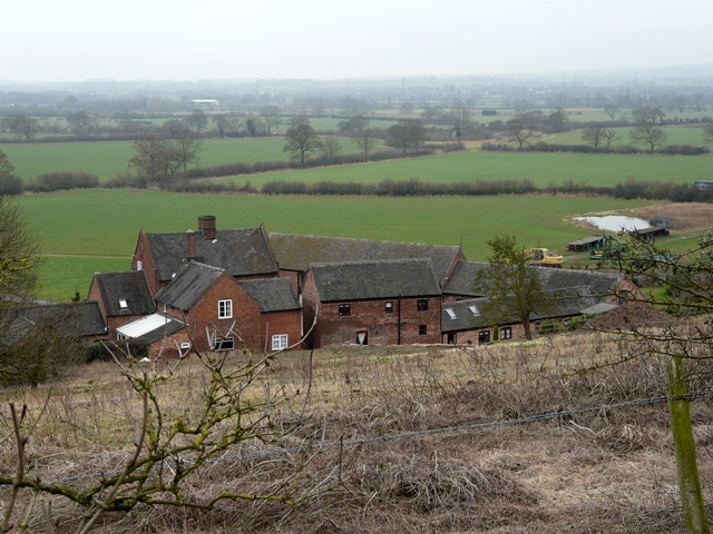 Cowley Hill Farm from Cowley Hill