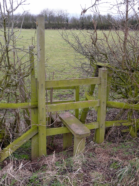 Stile at Pipe Ridware