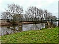 SK1017 : Footbridge over the Trent, near Nethertown by Graham Taylor