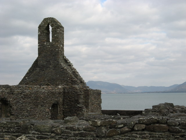 The ruin of Ballinskelligs Priory