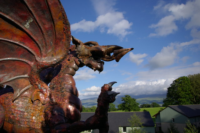 Dragon at Henllys