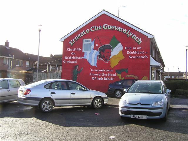 Ernesto Che Guevara Lynch mural, Bogside
