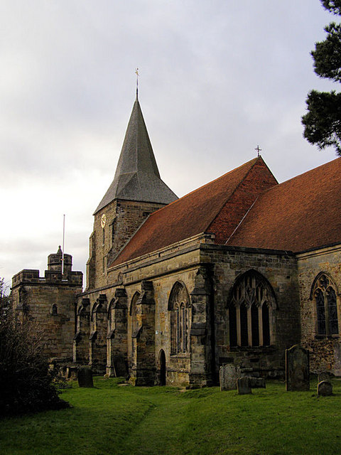 St Dunstan's Church, Mayfield