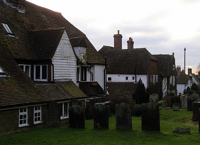 St Dunstan's Churchyard, Mayfield