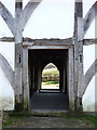 SU8712 : Wealden hall house from Chiddingstone, Kent by Chris Gunns