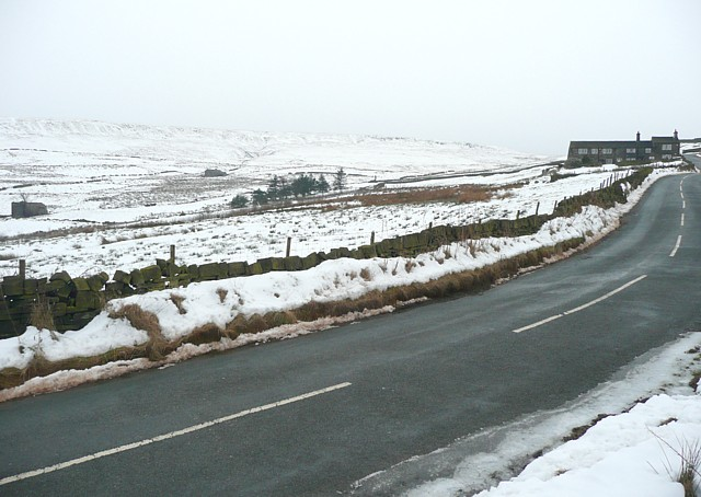 The road towards Mires, Rishworth