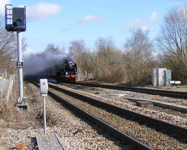 Tornado, blasts through Andover Station.