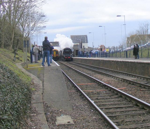 """Tangmere"" roars through Gillingham, Dorset"