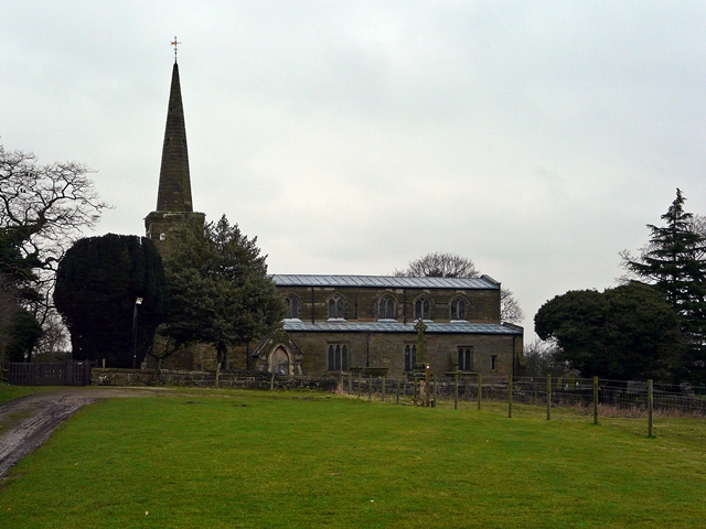 St Michael and All Angels Church, Hamstall Ridware
