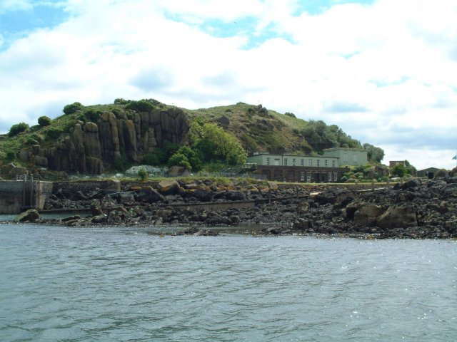 Inchcolm landing stage
