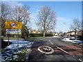 TL1489 : Village approach, Folksworth by Michael Trolove