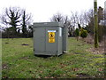 TM3358 : Electricity Sub-Station in Keepers Lane, Marlesford by Adrian Cable