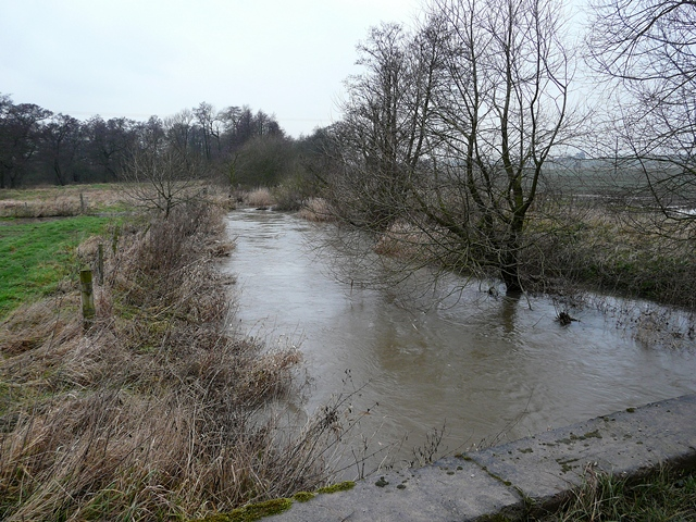River Blithe north of Hamstall Ridware