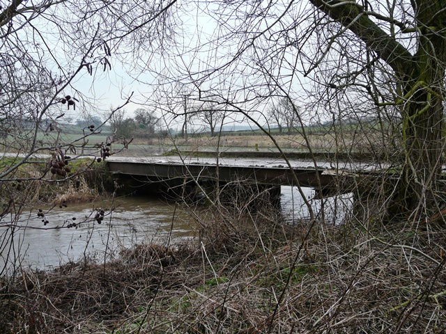 Bridge over the River Blithe north of Hamstall Ridware