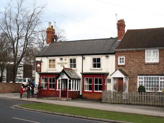 The Charles XII pub, Heslington