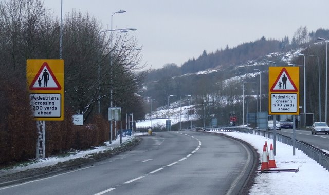 A78 in Spango Valley