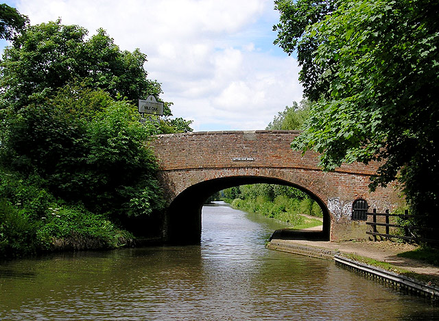 Birmingham and Fazeley Canal  near Fazeley