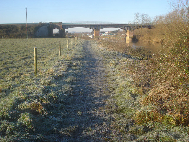 Railway bridge over the Avon