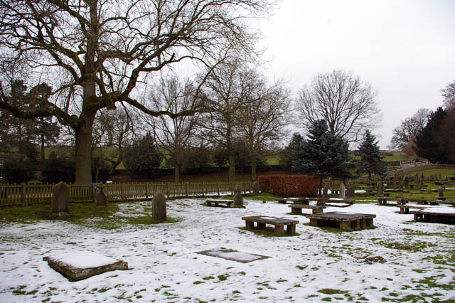 Churchyard - Priory Church of St Mary and St Cuthbert