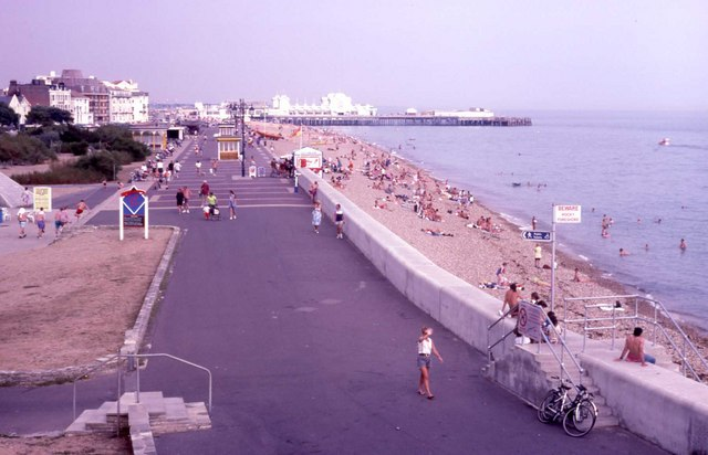 Southsea seafront - Summer of '95