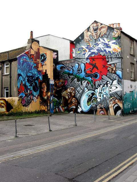 Graffiti Art, Kensington Street