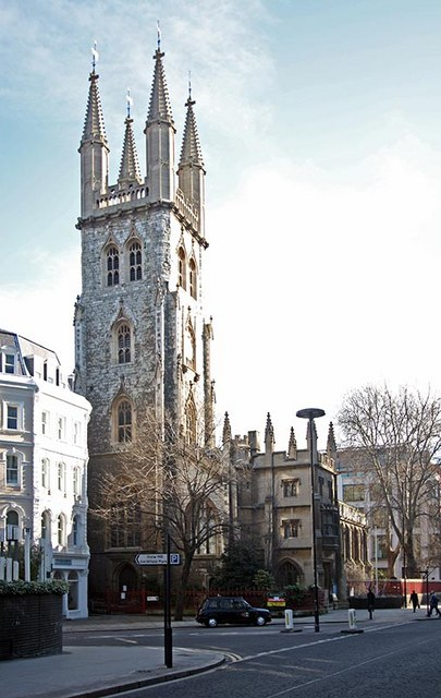 St Sepulchre without Newgate, Holborn Viaduct, London EC1