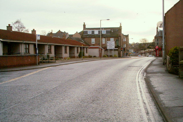 North Street, Forfar, near its junction with East High Street
