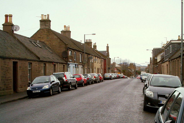 View of North Street, Forfar