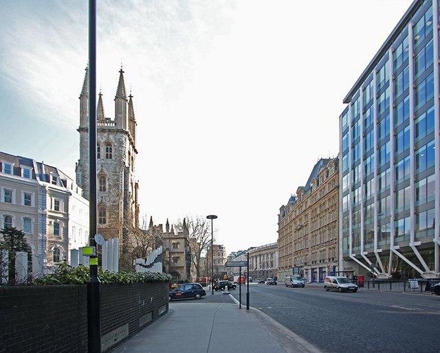 St Sepulchre without Newgate, Holborn Viaduct, London EC1
