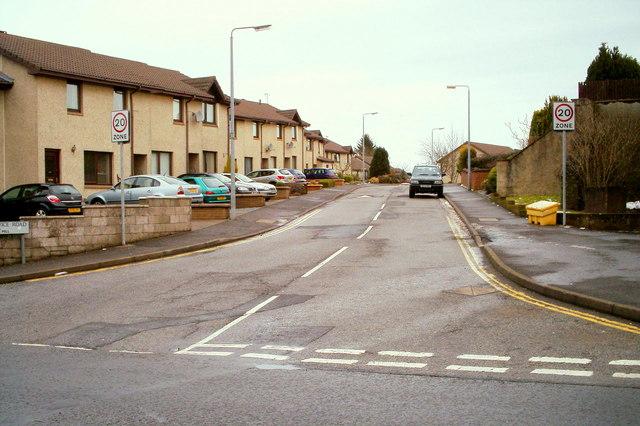 Service Road, Forfar