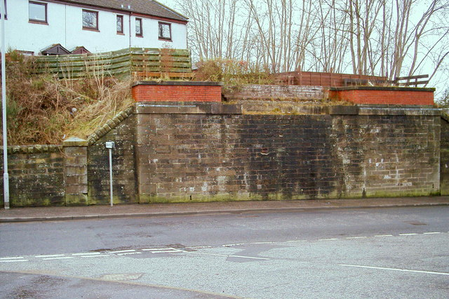 The Remains of Railway Bridge in North Street, Forfar