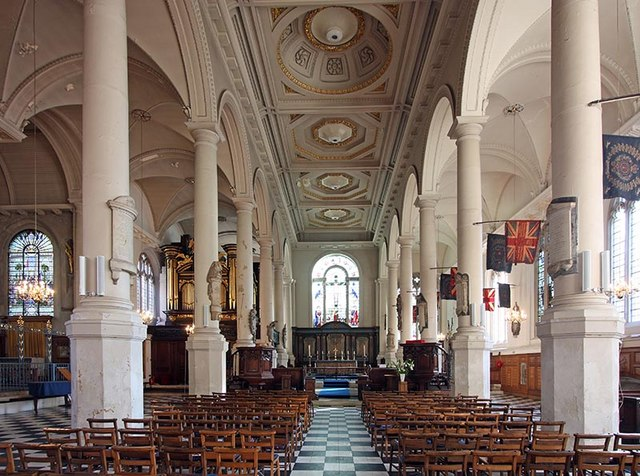 St Sepulchre without Newgate, Holborn Viaduct, London EC1 - East end