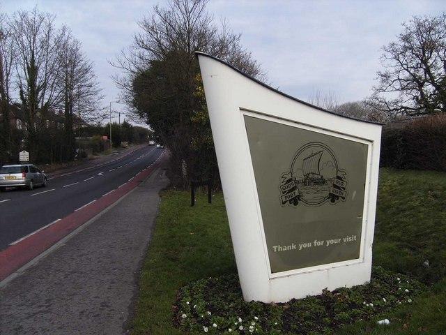 Gosport Welcome/Farewell sign